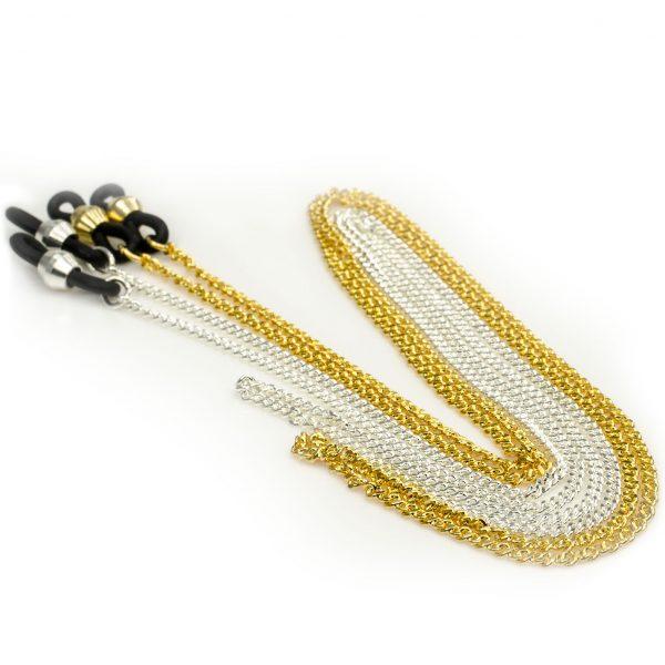 Elegant eyeglass chain, Curb Classic
