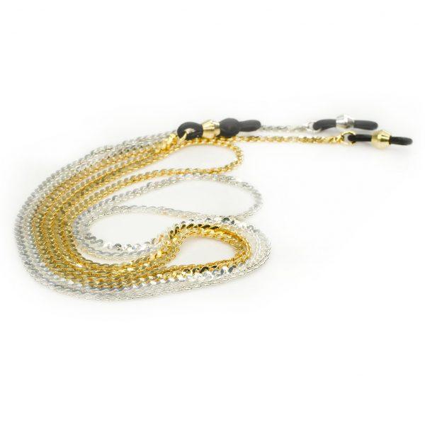 Elegant eyeglass chain, Snake S shape