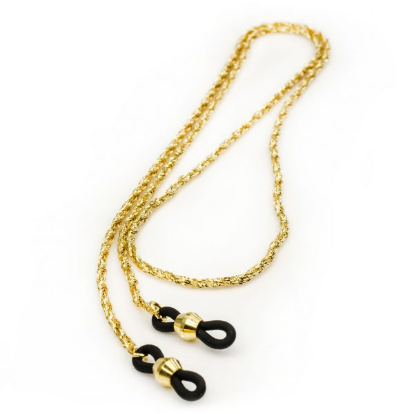 Elegant eyeglasses chains, Wheat