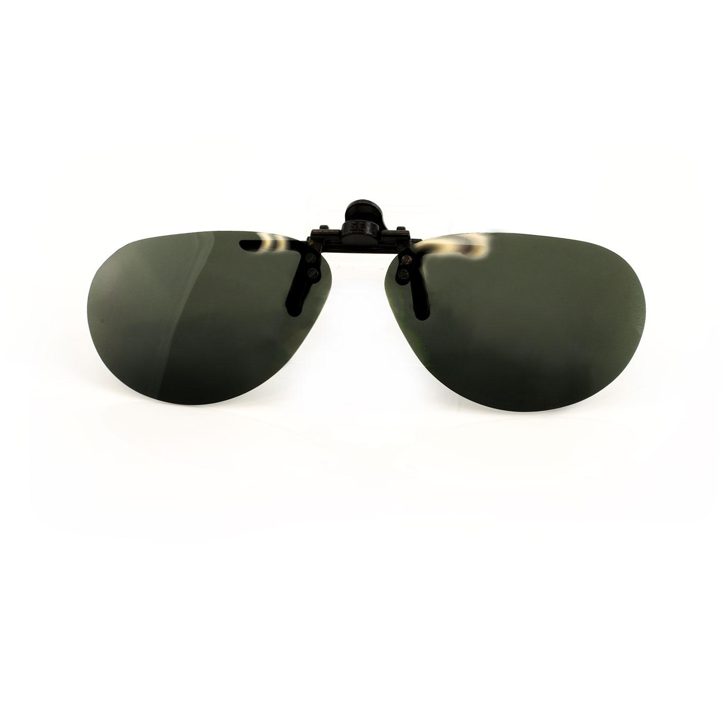 Lunettes de soleil Flip-Up polarisées UV400- Petit Ovale