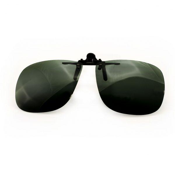 Polarized UV400 Flip-Up Sunglasses-Large Square
