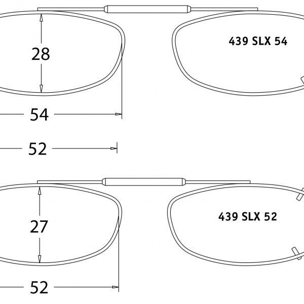 Visionaries Clips-on Sunglasses -SLX REC (SLX)