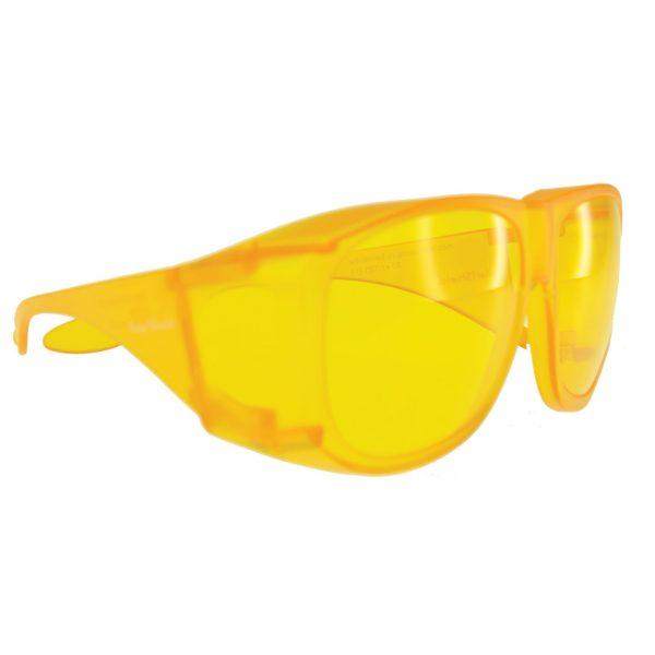 Lunettes de soleil ajustées Sun Shield - Jaune