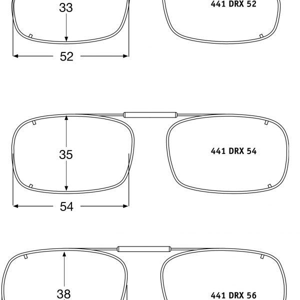 Visionaries Clips-on Sunglasses -Deep Rec