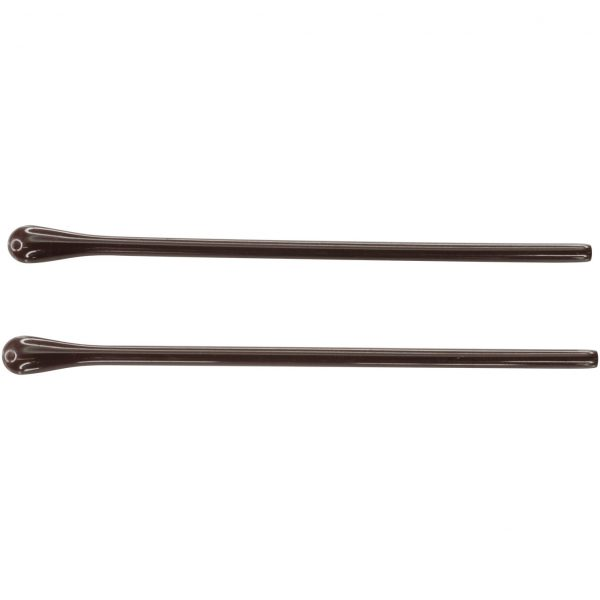 Acaetate Temple Tips Brown 1.2mm