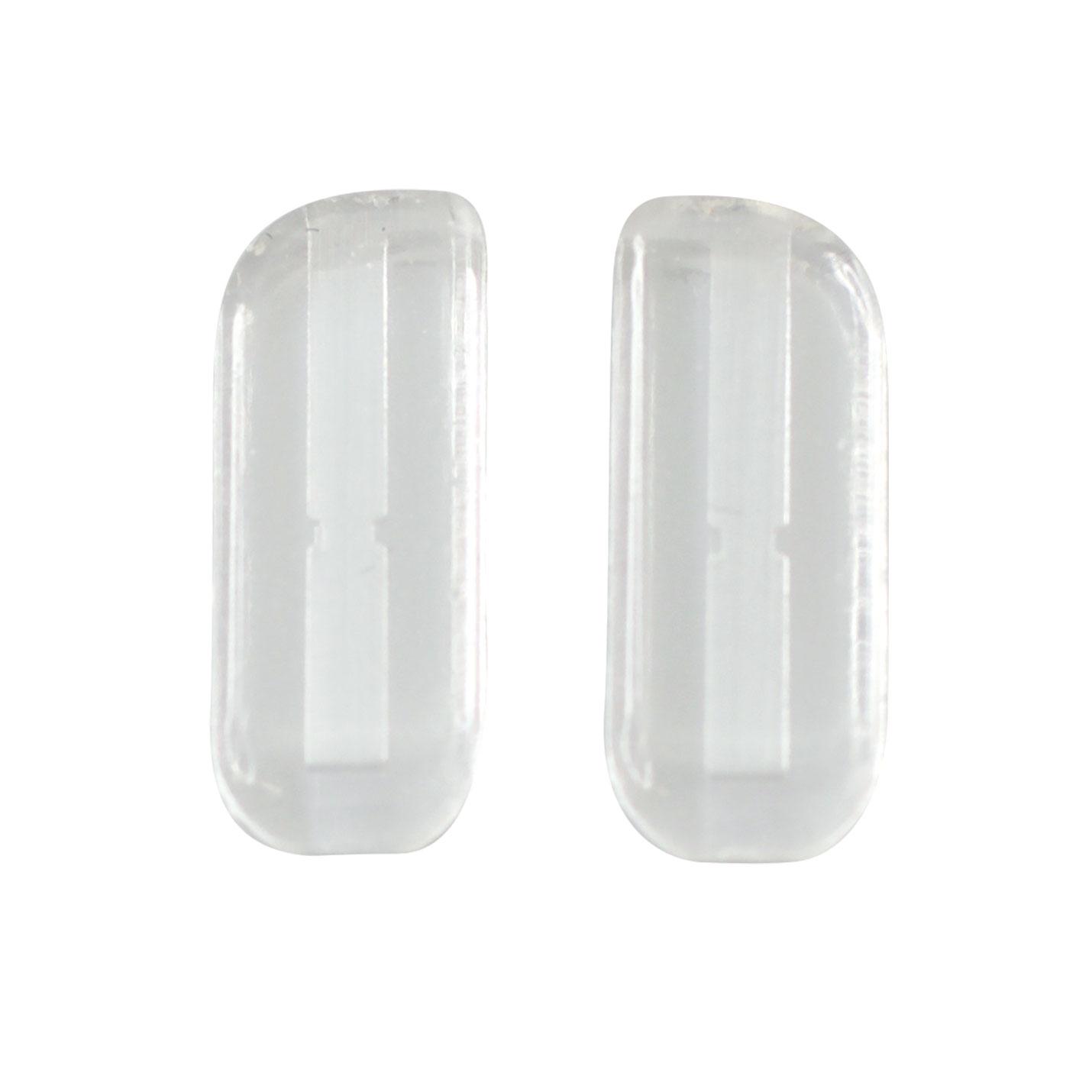 Plaquettes nasales baïonnette en silicone