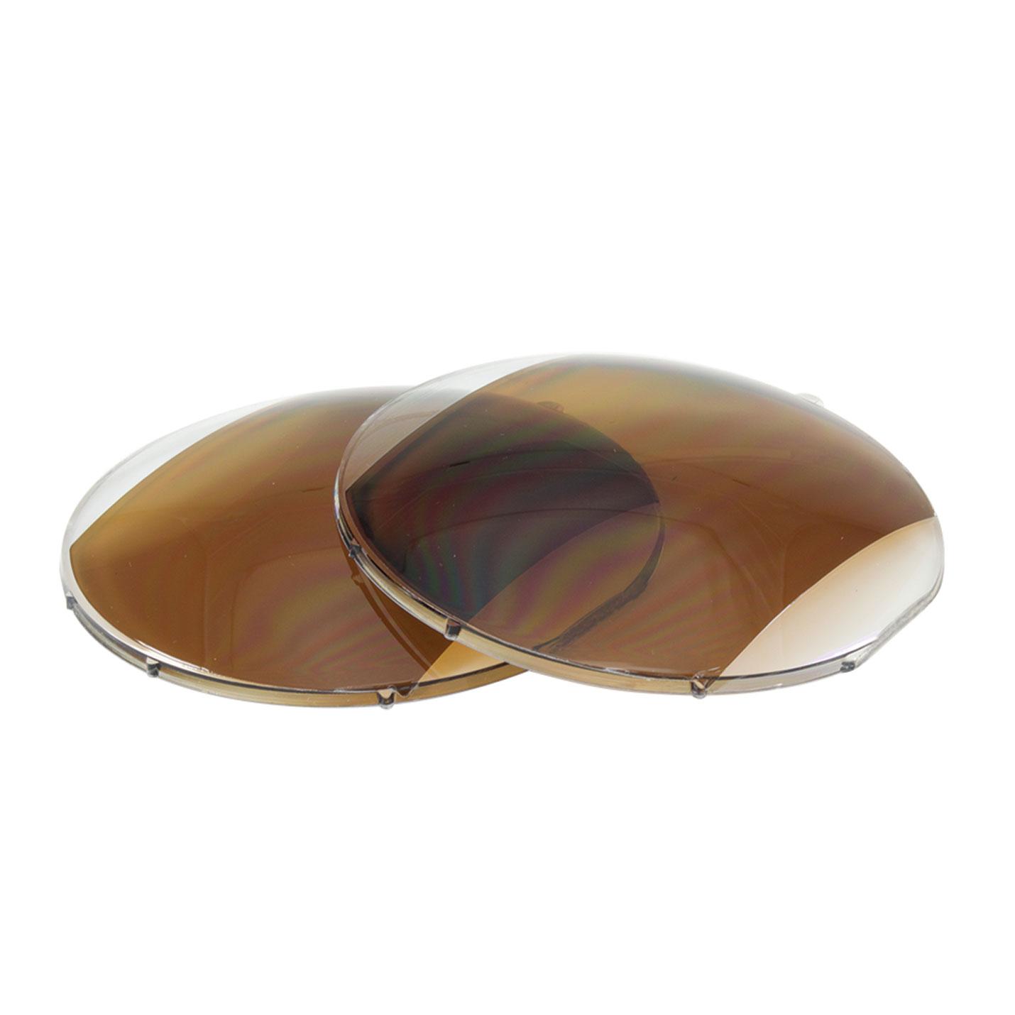 Lentilles en polycarbonate polarisés avec antireflet