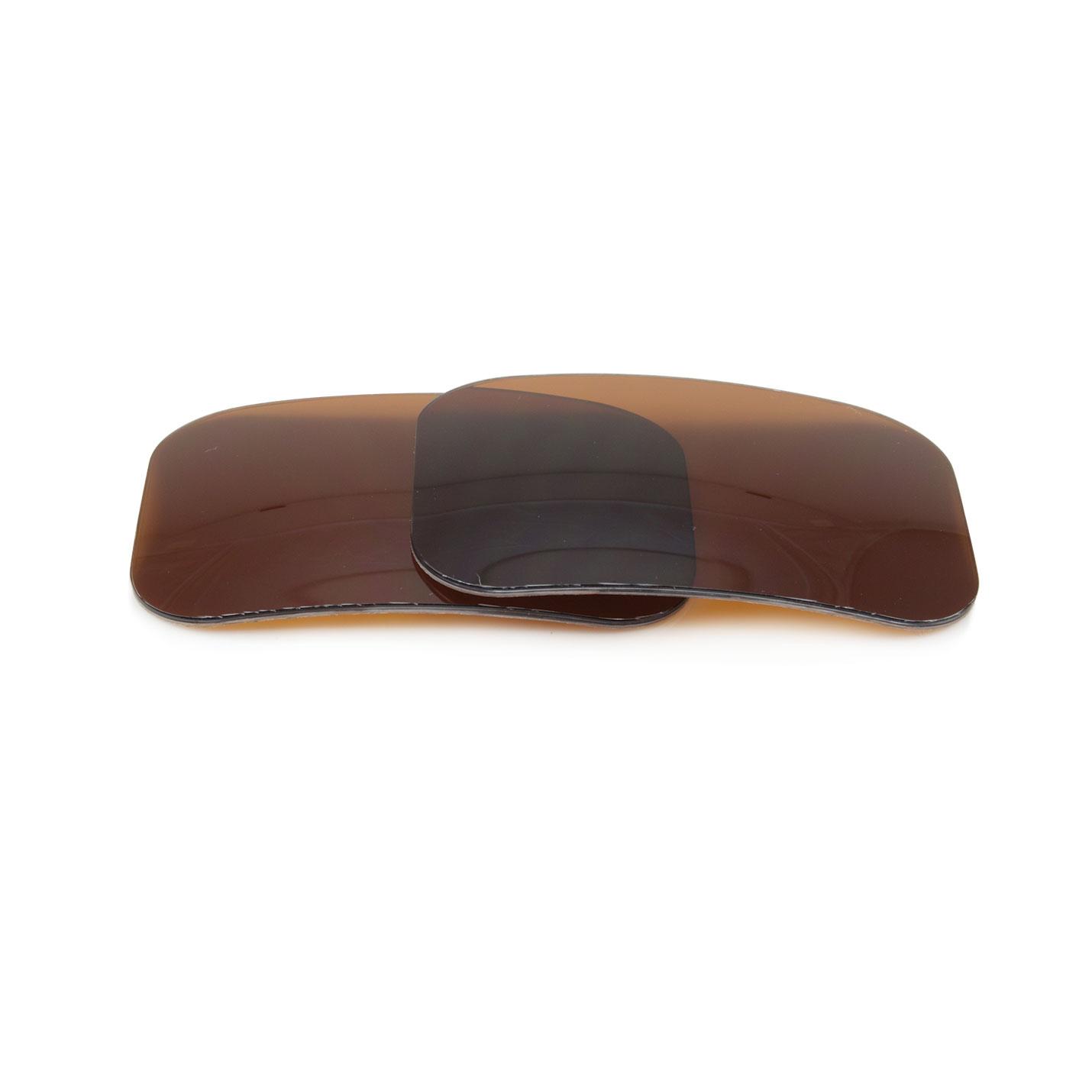 Lentilles incurvées polarisées UV en polycarbonate  400 UV avec antireflet