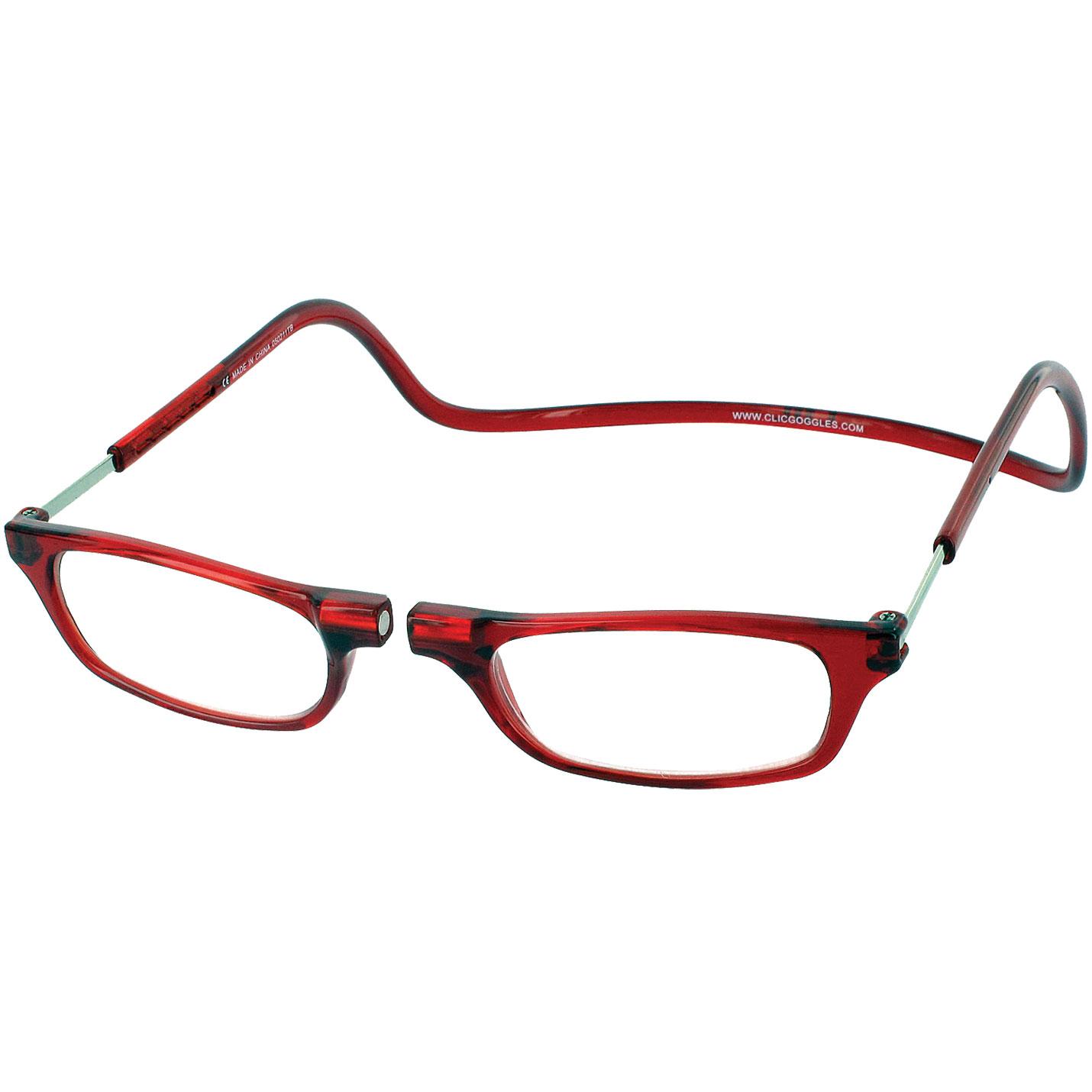 Lunettes de lecture CLiC - RED - Kleargo 8c556a4d35b4