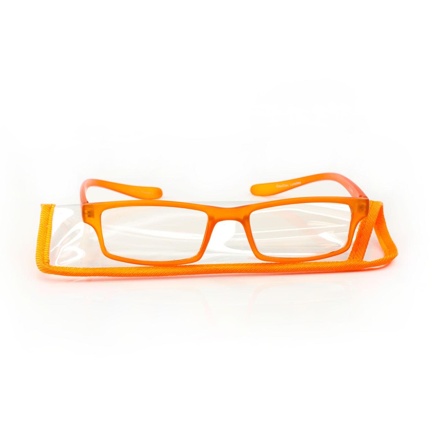 Lunettes de lecture CouCou Orange