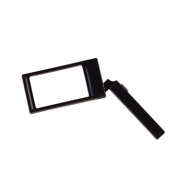 Folding Rectangular Lighted Magnifier