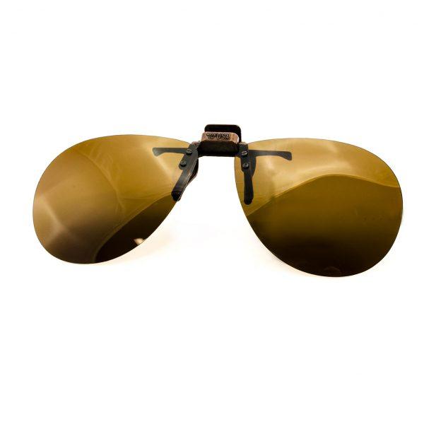 Polarized UV400 Flip-Up Sunglasses Aviator