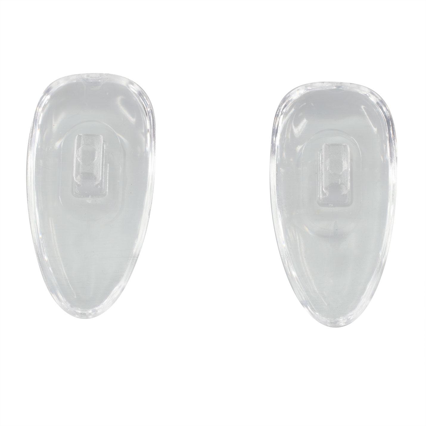 Plaquettes nasales symétriques à pression en PVC