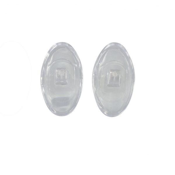Symmetrical PVC Screw-On Nose Pads