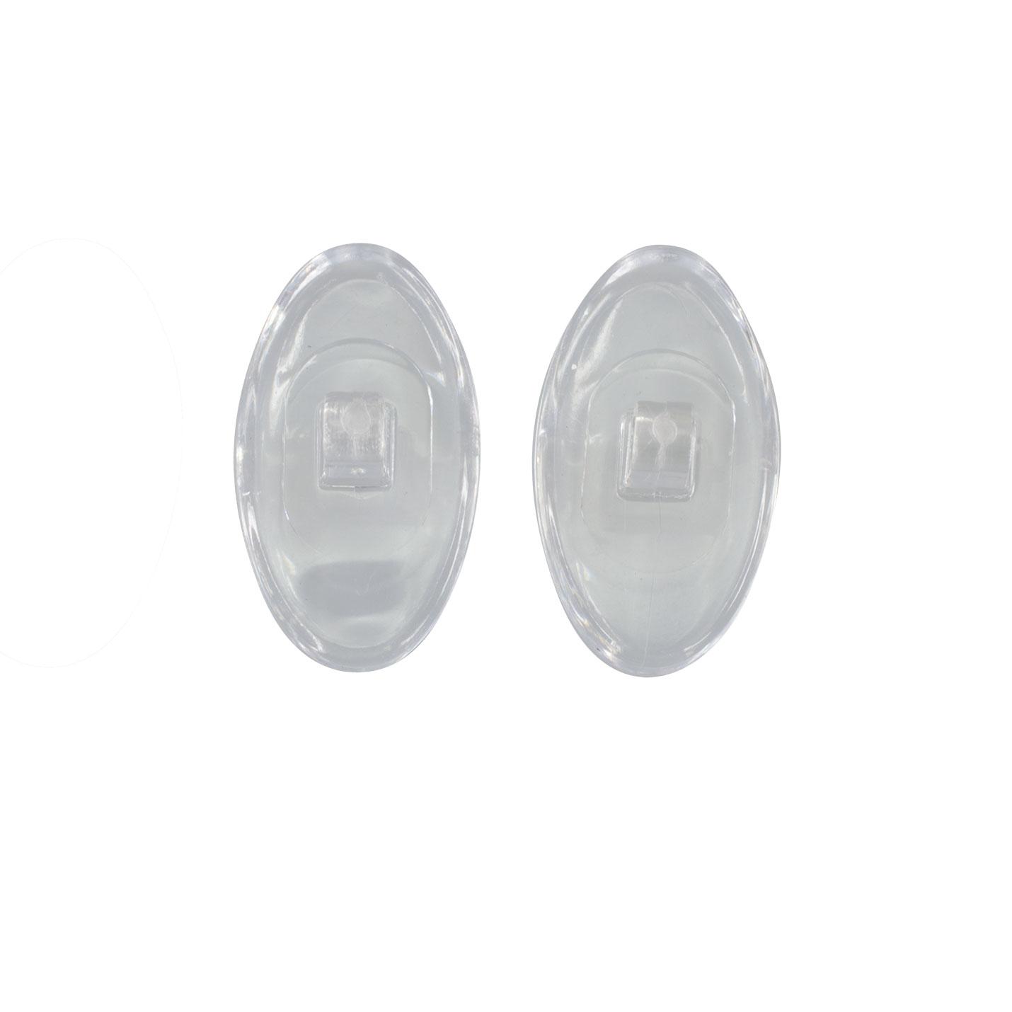 Plaquettes nasales symétriques à vis en PVC