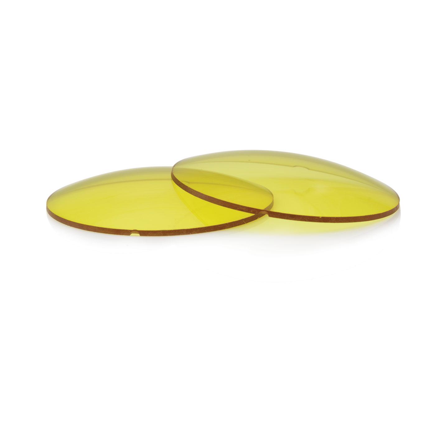 Lentilles jaunes UV400 CR39 – 25% obscurité