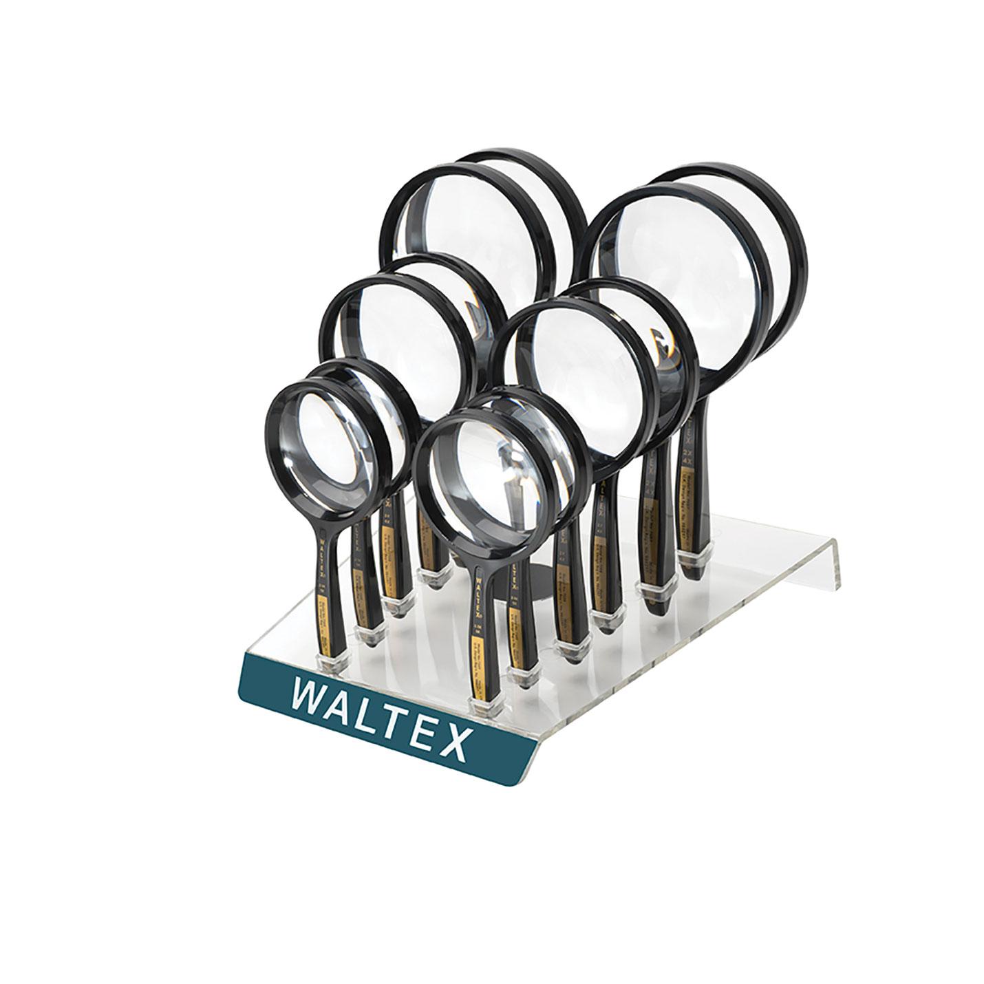 Trousse de loupes rondes bifocales Waltex