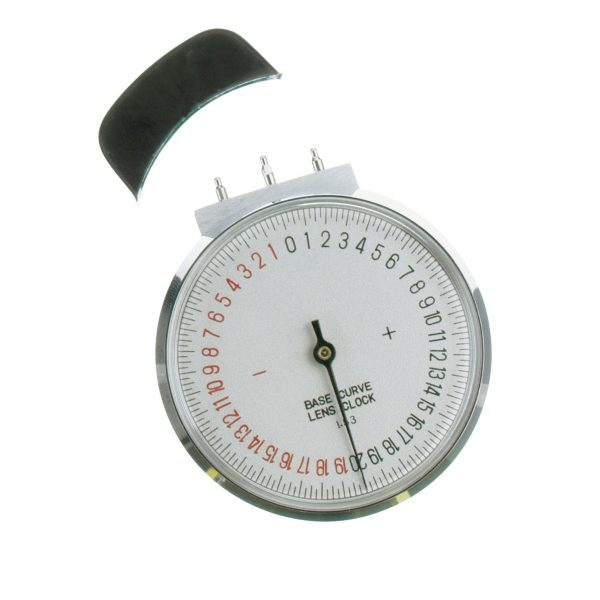 Base Curve Lens Clock
