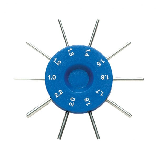 Optical Hole Size Gauge