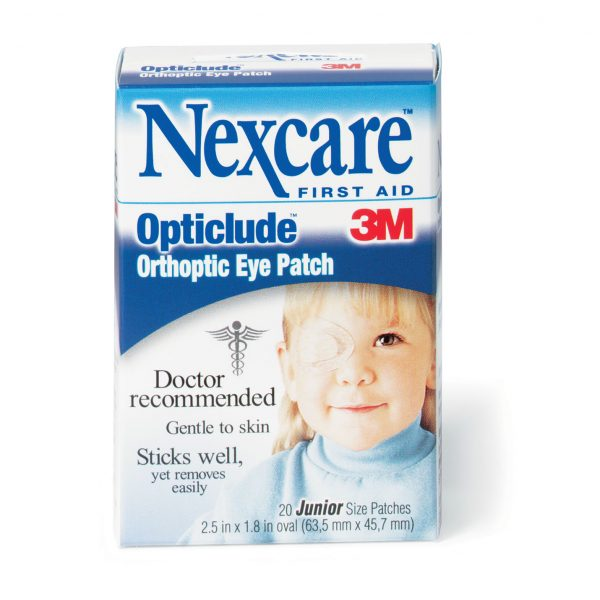 Junior Occlusive Eye Bandages