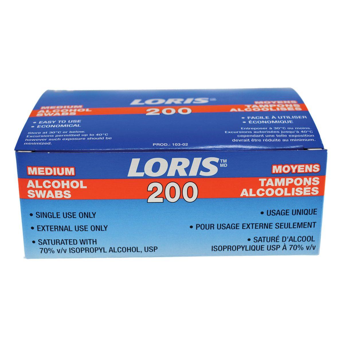 Tampons D'alcool Stérillisés Loris