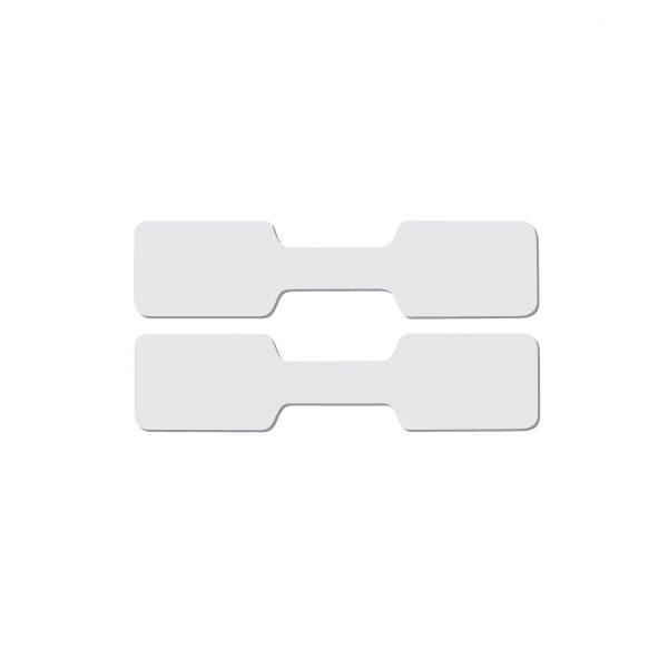 Étiquettes en papier pour lunette