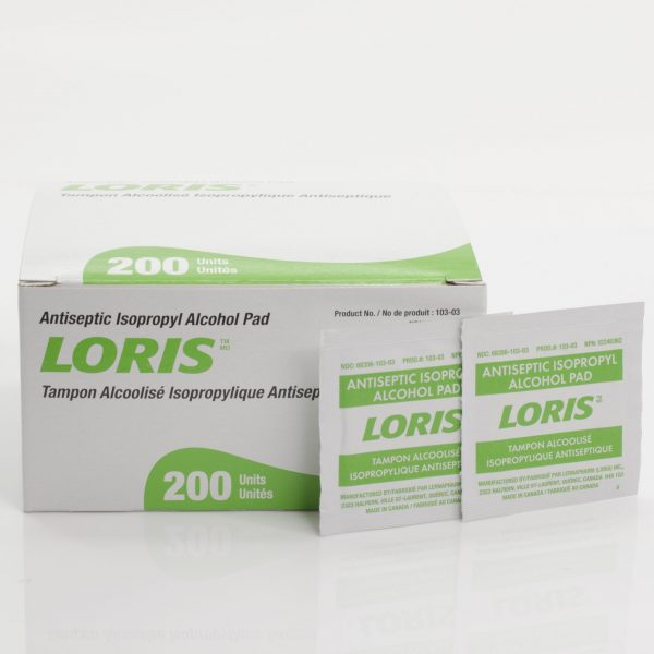 Loris Sterile Alcohol Pads
