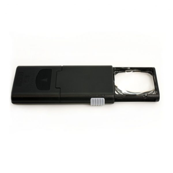 retractable lighted pocket magnifier