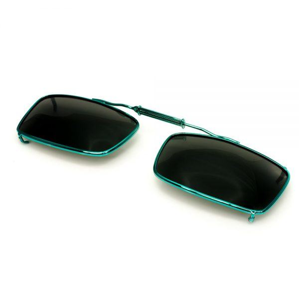 CouCou Readers Teal Blue Clips On