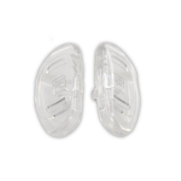 Screw-On Silicone 15mm Nosepads (D-SHAPE)