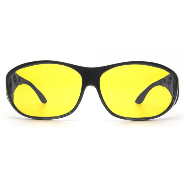 Haven Meridian Fit Over – Black Frame / Yellow Lens (CLEARANCE)