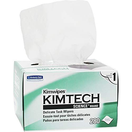 Kimwipes Delicate Task Wipers 1-PLY, 280 Sheets